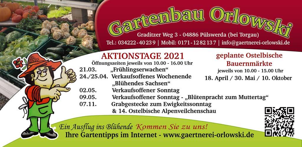 Flyer Gartenbau Orlowski 2021